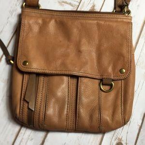 Brown Fossil crossbody purse